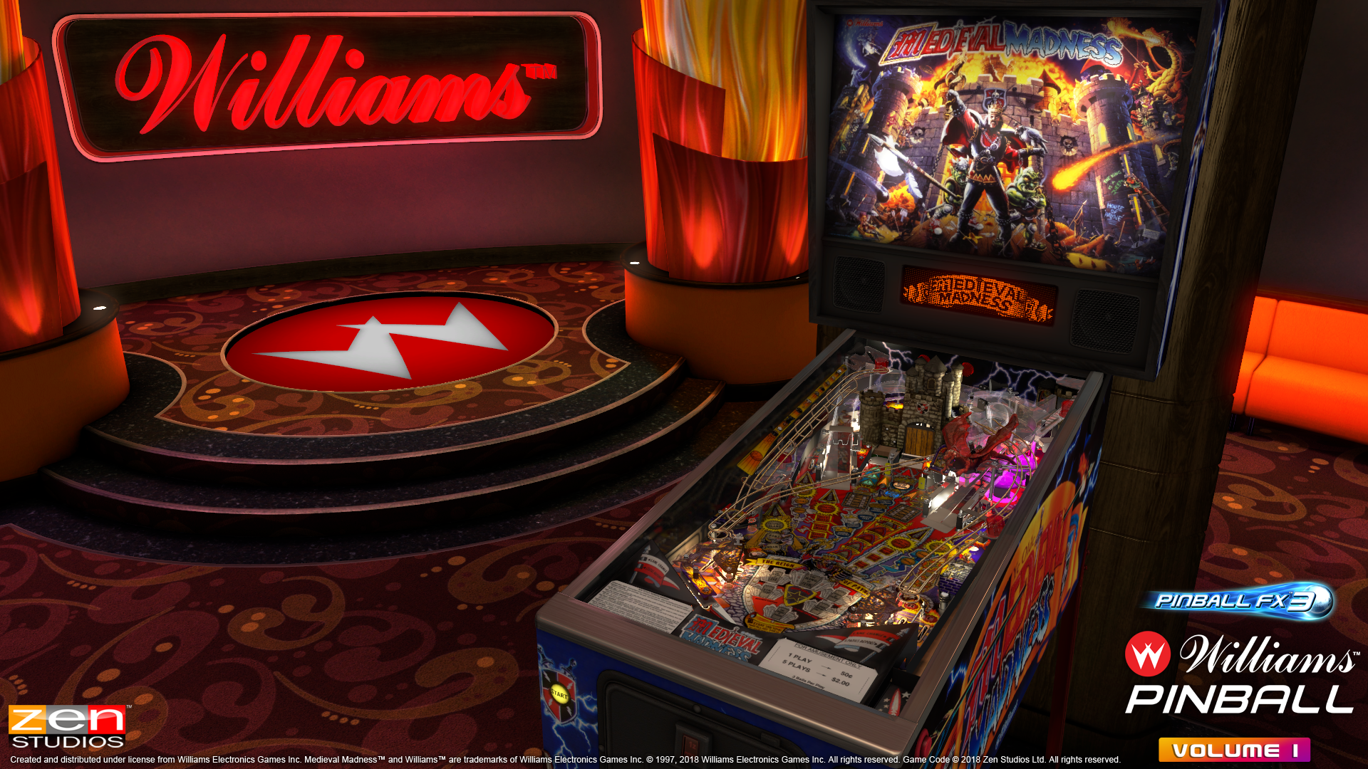 Williams Bally Pinball License Acquired by Zen Studios - EXCLUSIVE