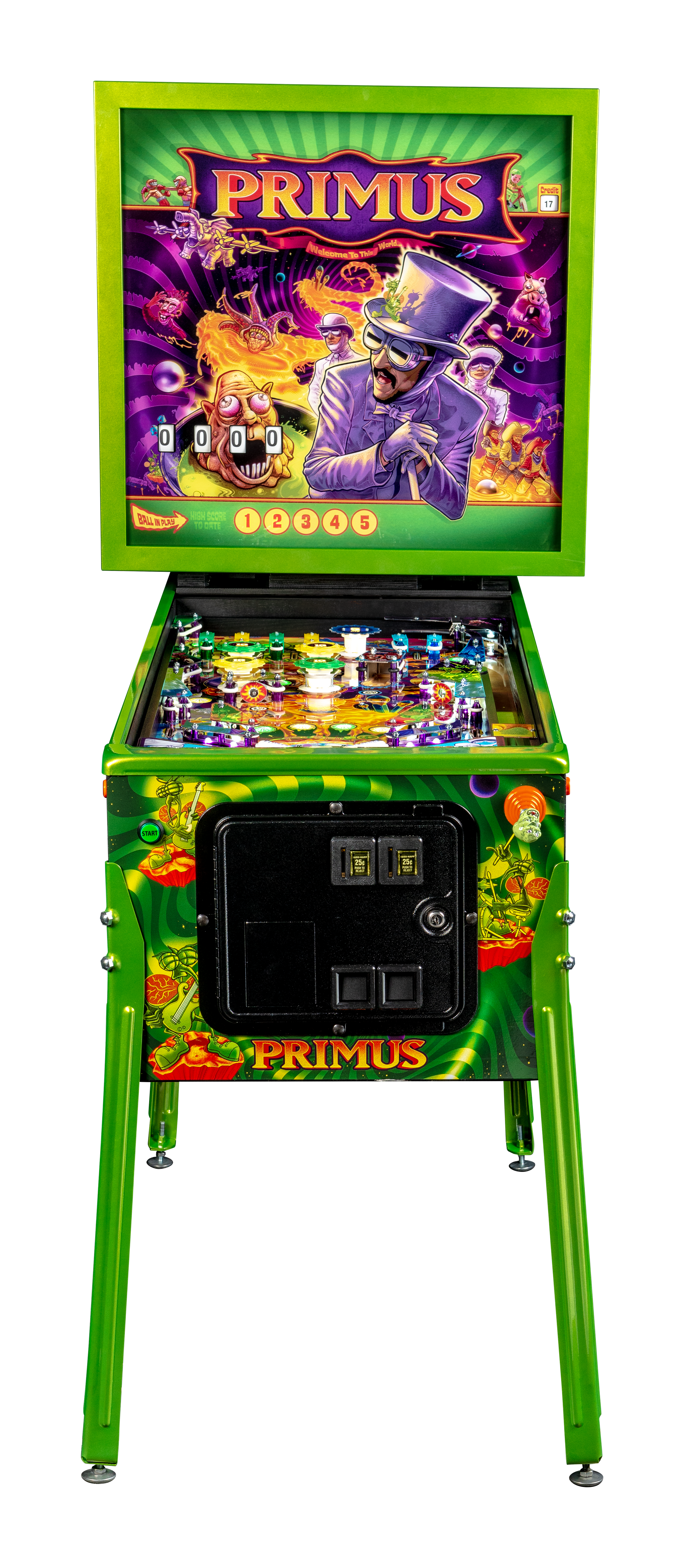 TWIP - Primus Pinball, Beatles Reveal Stream, Nic Parks